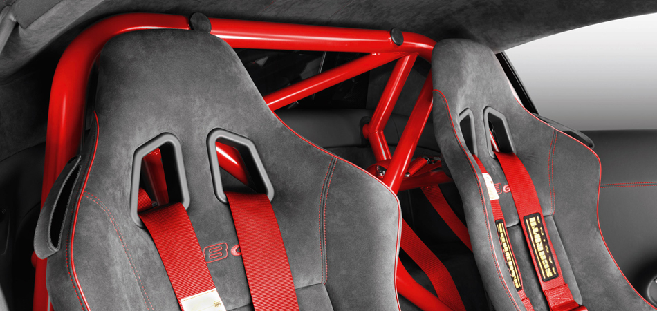 Alcantara Audi R8 GT Seats