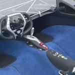 Piele Auto Alcantara in Maserati Birdcage Concept car