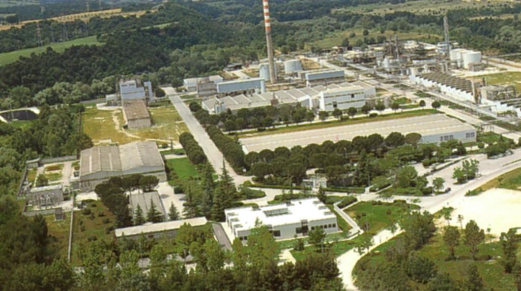 Fabrica Alcantara de la Nera Montoro langa Terni in Umbria, Itali